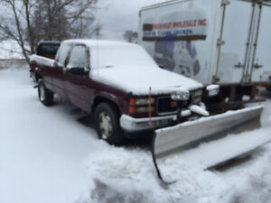 1997 Gmc 2500 snow plow