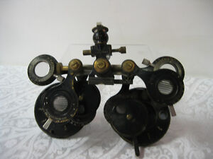 Optical Phoropter -- FROM PAST TIMES Antiques  - 1178 Albert St