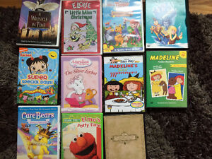 Various kids' movies