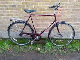Stunning vintage Classic Raleigh Connoisseur 3 speed Dutch bike