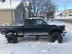 1996 lifted chevy 4 x 4