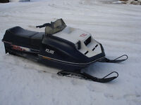 1980 Polaris TXL 340 liquid cooled $1000.00