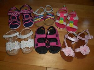 Assorted Girl's Sandals (Size 9 - 12)