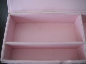 Pink Quilted Storage/Jewellery Box London Ontario image 3