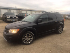 2012 Dodge Journey RT-AWD-LEATHER-LOADED-NAV-HTD SEATS