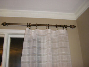 New Curtain Rods