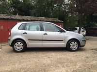VW POLO 1.2 Manual silver 60,000 miles 2 owners