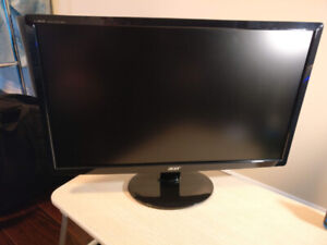 "Acer 23"" Full HD (1080p) Ultra Slim, Widescreen Monitor."