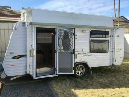 SOLD PENDING 7ft wide 2010 Pop Top Caravan 15ft Willaston Gawler Area Preview
