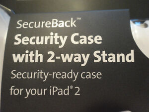 NEW Kensington SecureBack Security Case w/ 2-Way Stand for iPad2