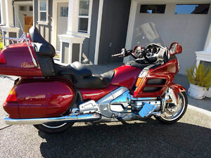 2001 Goldwing GL1800, 25,700 kms