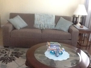 Matching Sofa and Chair from Coal Harbour Condo