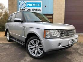 2005 RANGE ROVER 3.0 TD6 VOGUE SE AUTO, SAT NAV, REAR TV SCREENS, HEATED LEATHER
