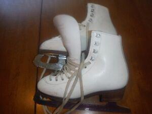 Size 1 - Girl's Figure Skates