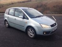 2004 Ford Cmax 1.6 Tdci Mpv Swap or Sell