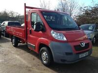 2012 Peugeot Boxer 2.2HDi 335 MWB Drop Side 2 Owners