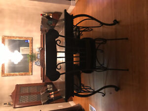Dining and living room set
