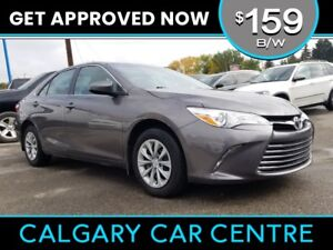 2017 Toyota Camry $159B/W w/Leather, Keyless Entry, BackUp Cam.