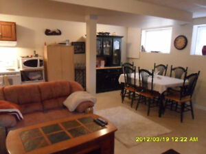 2 bedroom / 1 bath Lower Suite across from Malaspina Elementary
