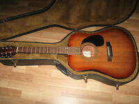 FOR SALE VERY NICE SIX STRING HOHNER ACOUSTIC GUITAR.