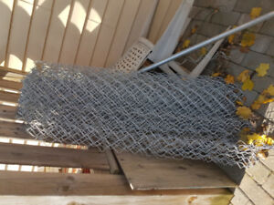 28 feet of 4 ft high - Chain link fence