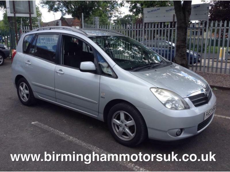 2003 toyota corolla verso 1 8 vvt i t3 auto 5dr in stechford west midlands gumtree. Black Bedroom Furniture Sets. Home Design Ideas