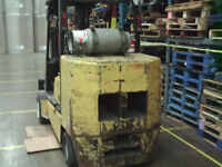 Raymond rich forklift and Yale fork lift