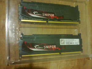 GSKILL Sniper Series 8GB (2 x 4GB) 240 pin  DDR3 2133mhz, i7 CPU