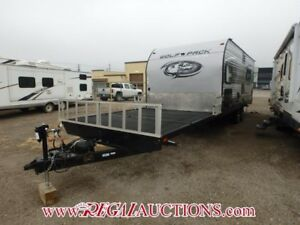 2016 FOREST RIVER CHEROKE WOLF PACK 20PACK10  TOY HAULER