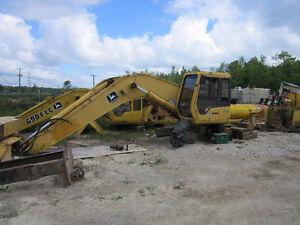 John Deere 892 ELC Excavator