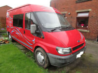 2002 Ford Transit 2 Berth Camper Van for Sale