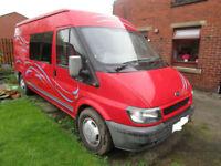 2002 Ford Transit 2 Berth Camper Van Conversion for Sale