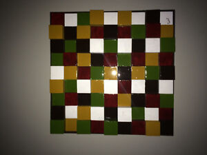 Original painting made with Cubes