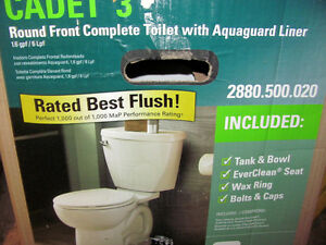 New in box American Standard Cadet 3 energy eff. Toilet