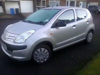 Nissan Pixo (Silver) MOTd & Taxed, Superb on Petrol, Great 1st Car