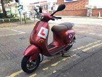 PIAGGIO VESPA ET4 red 125cc 1997 R reg