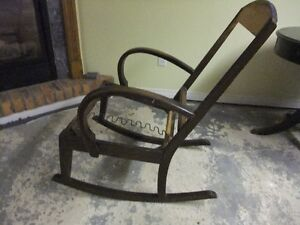 Rocking chair frame
