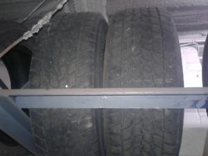 4 winter tires P195/65r15 toyo observe