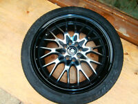 """just le Konig mags for honda 17"""" And fits all other cars mags ta"""