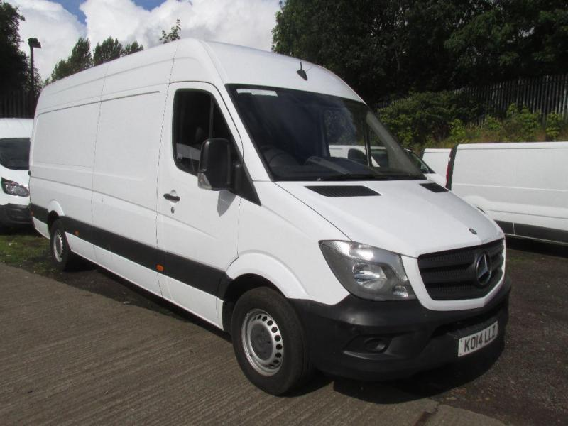 Mercedes-Benz Sprinter 313Cdi LWB High Roof 129PS DIESEL MANUAL WHITE (2014)