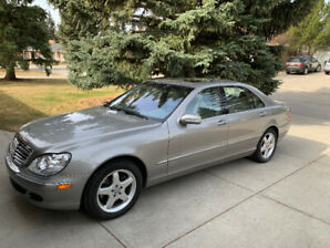 2003 Mercedes S430 AWD 82,243 km Original Owner