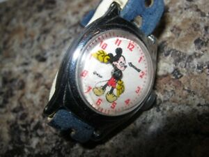 Mickey Mouse Watch - Non Working - For Restoration