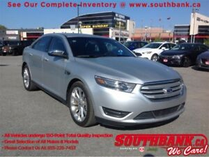 2016 Ford Taurus LimitedHeated Leather Seating, NAV, Backup Came