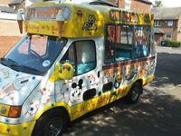Original Cummins Soft Ice Cream Van For Sale!