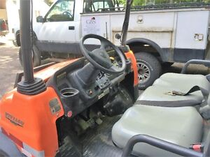 ready to trade or sell newwer crew cab for Kubota