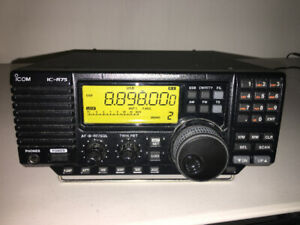 HF Receiver Icom IC-R75 in Excellent A+++ condition.