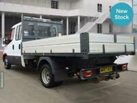 2017 Iveco Daily 2.3 Crew Cab Tipper3450 WB Long Wheelbase L3H1 Low Roof WB Tipp
