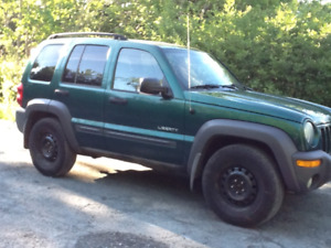 2004 Jeep Liberty Sport SUV, Crossover TRADE