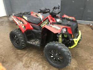 2018 Polaris Scrambler XP 1000 Havasu Red Pearl