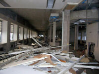 INTERIOR DEMOLITION EXPERTS!!! CALL NOW FOR A FREE QUOTE !!!